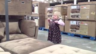 Costco furniture diving