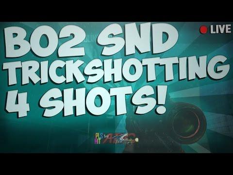 Trif: INSANE TOUGHNESS VERTIGO SUICIDE! - Bo2 SND Trickshotting Live (4 Shots)