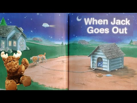 When Jack Goes Out - A Wordless Picture Book