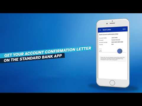 Standard Bank | Business Banking | Self Service – Get A Bank Confirmation Letter