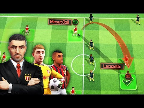 THIS NEW FOOTBALL MANAGER GAME IS CRAZY! | Football Tactics & Glory