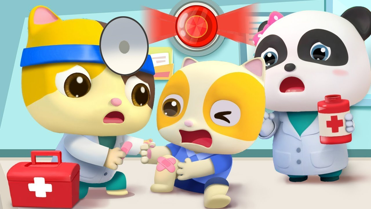 Doctor Rescue Team | Doctor Cartoon | Kids Songs | Nursery Rhymes | Kids Cartoon | BabyBus
