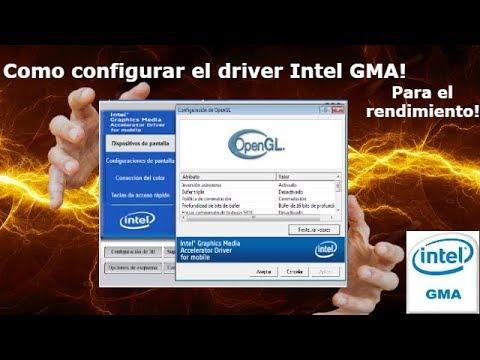 Como Configurar el Driver: Intel Graphics Media Accelerator [Rendimiento y Calidad]