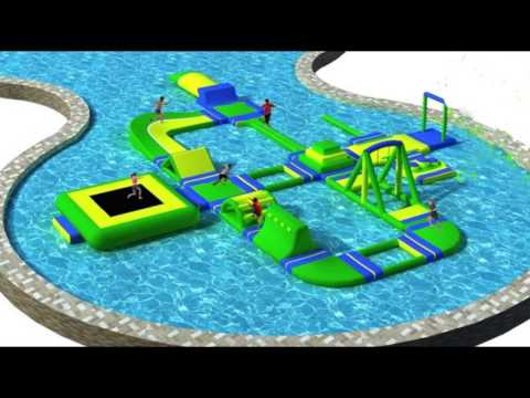 Inflatable floating park aqua park factory professional manufacturer in China