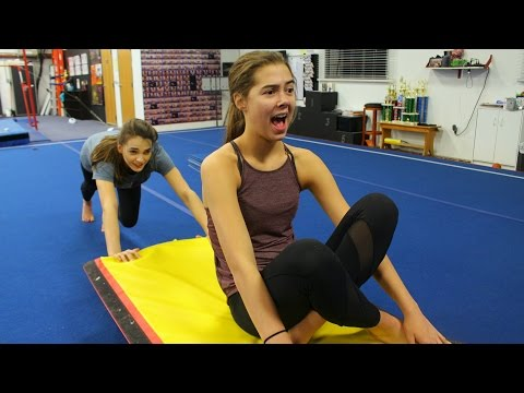 FUN Gymnastics Conditioning Ideas! |TheCheernastics2
