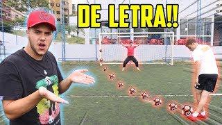 SÓ VALE GOL DE LETRA!! (será que alguém conseguiu?! ) thumbnail