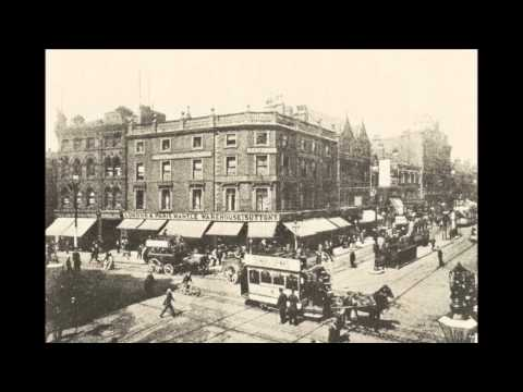LEEDS -- BRIGGATE 1800s --1900 DAYS GONE BY