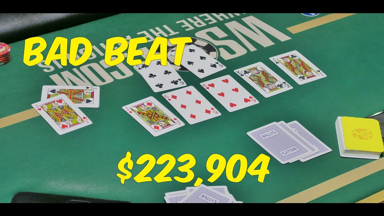 bad beat jackpot online betting