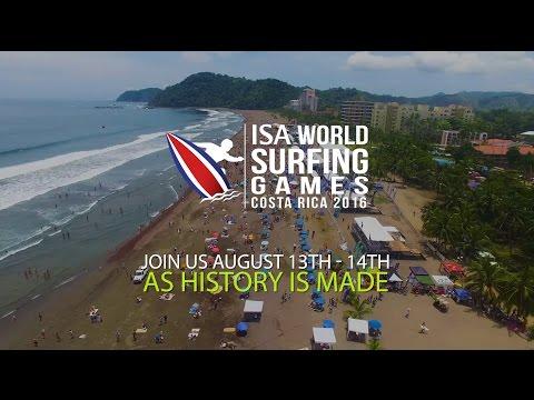 ISA World Surf Games | Costa Rica 2016