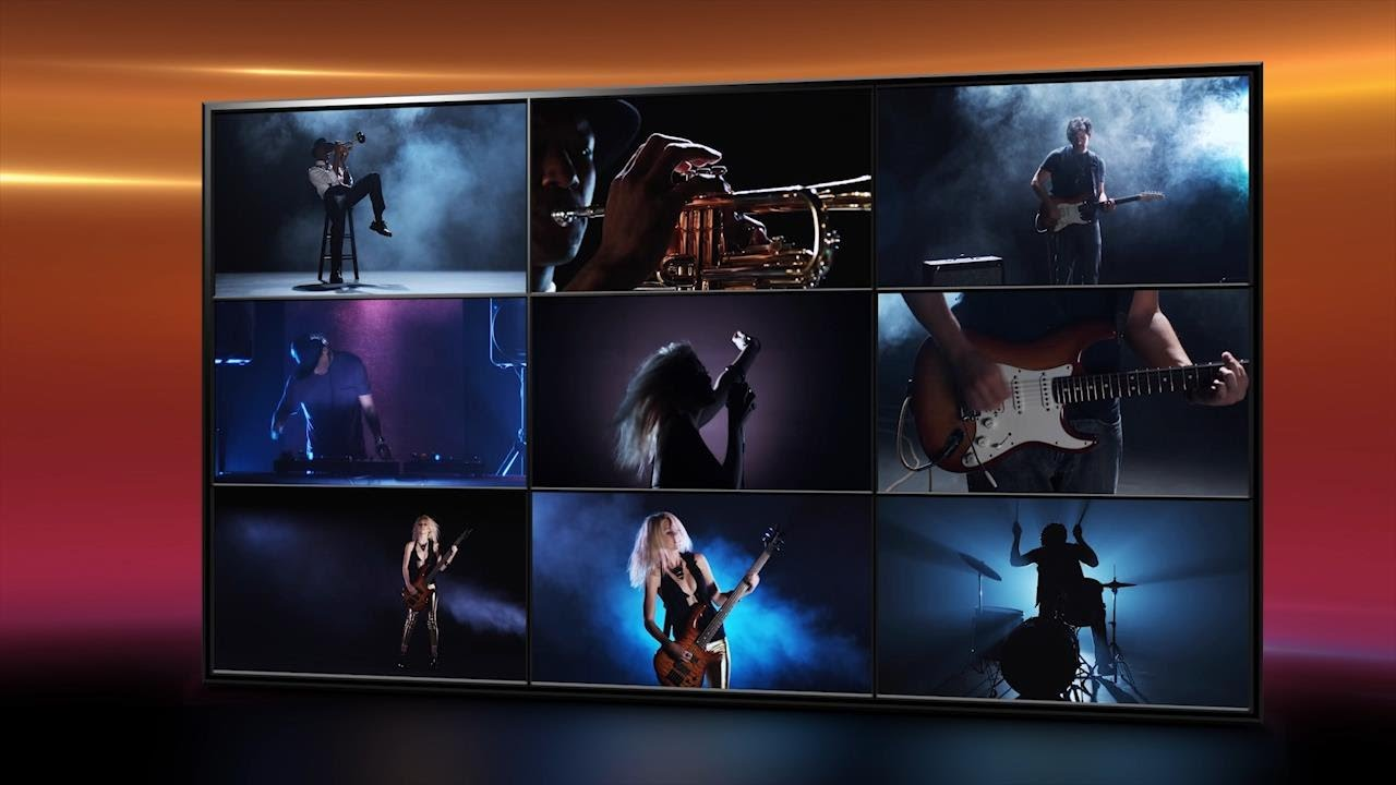 Video wall template for adobe premiere pro youtube for Free adobe premiere templates
