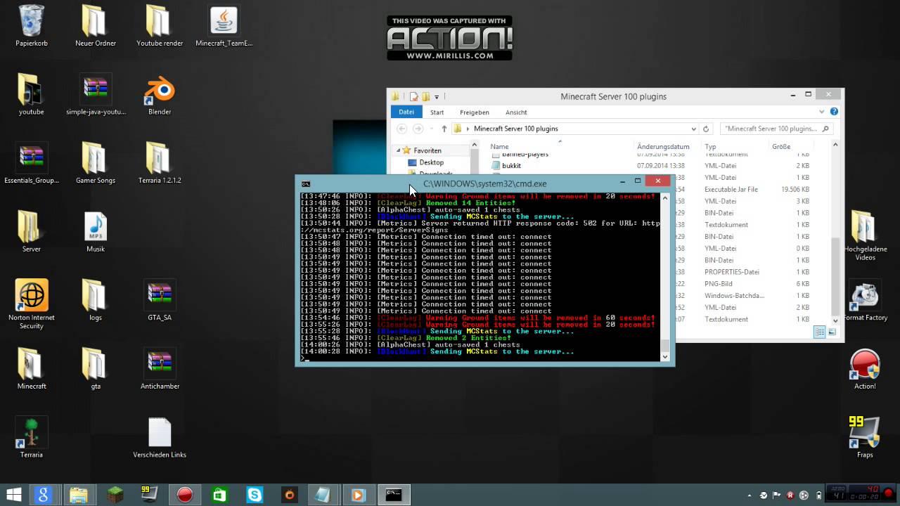 Minecraft Fertiger Bukkit Server Downloaden Plugins YouTube - Minecraft server erstellen 1 8 download