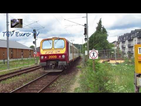 Les trains au Luxembourg (RB, RE, IC, Fret, TER et TGV)