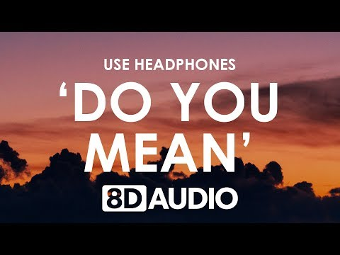 The Chainsmokers - Do You Mean (8D AUDIO) 🎧 Ft. Ty Dolla $ign, Bülow