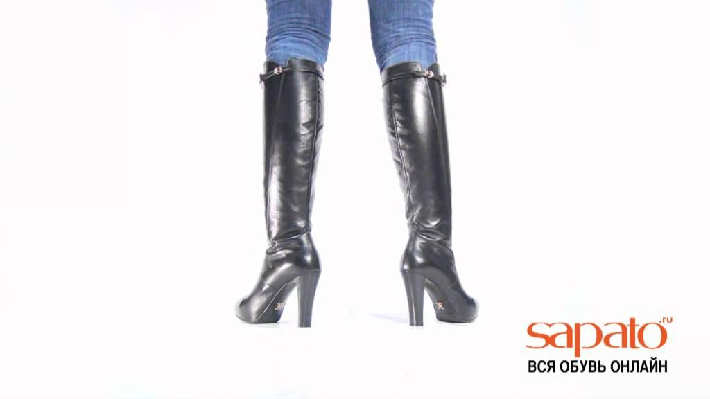 Женские зимние сапоги на низком ходу ETOR - YouTube