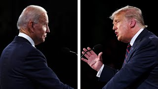 video: US election debate: Joe Biden called Donald Trump a racist and a liar - and he was by far the politest candidate