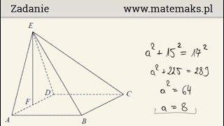 Zadanie maturalne za 5 pkt