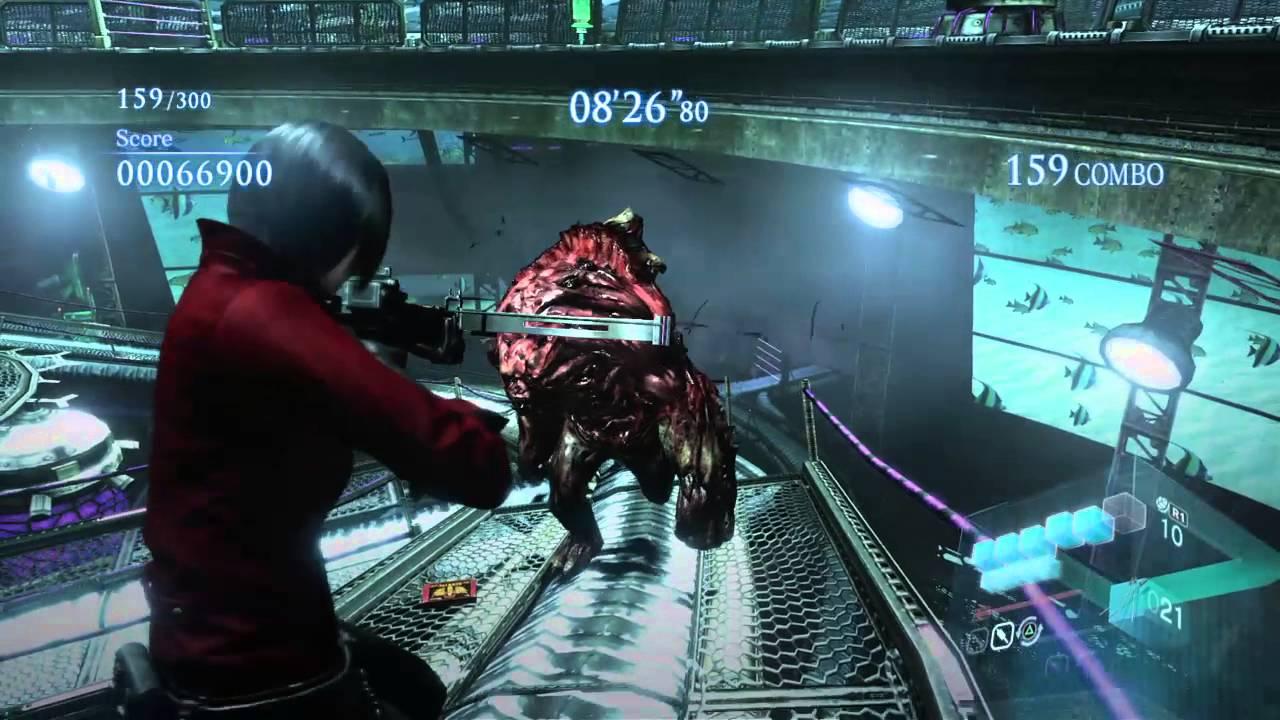 Resident Evil 6 Remastered: The Mercenaries No Mercy