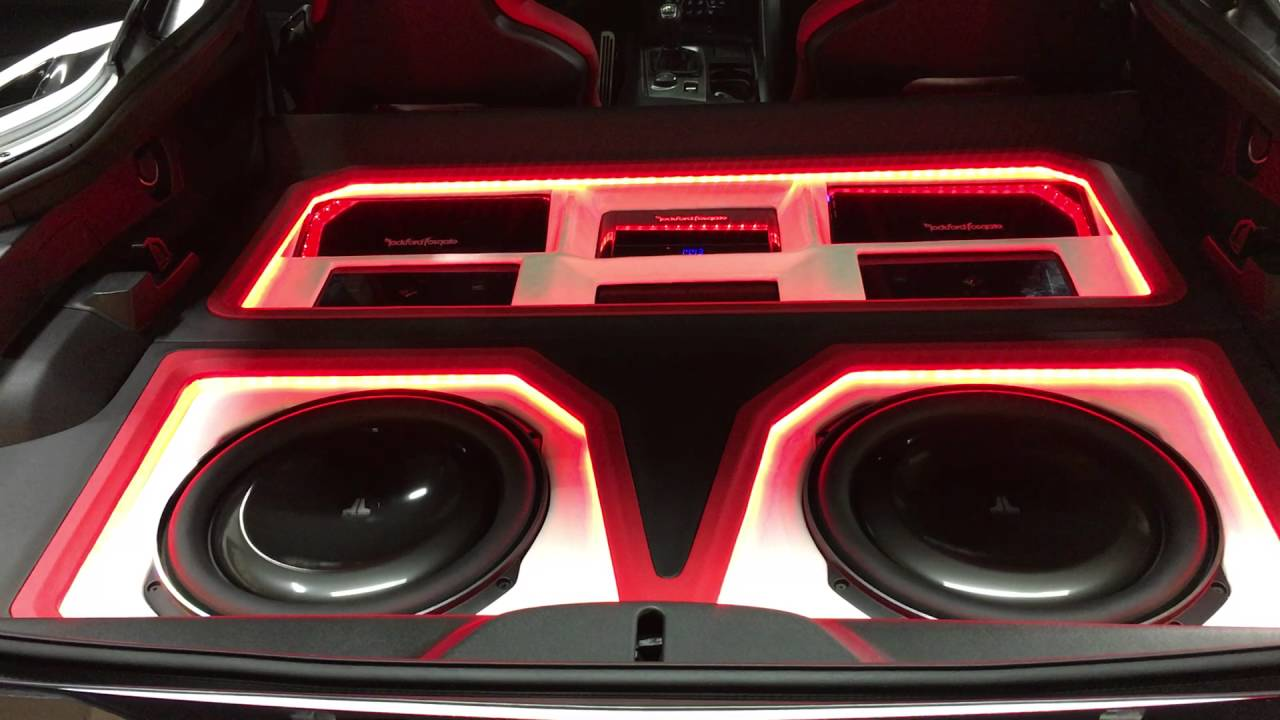 Corvette C7 Full Custon Car Audio Build With Rockford