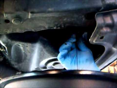 Friggin Toyota oil change - YouTube