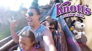 KNOTT'S BERRY FARM ADVENTURE with EvanTubeHD!