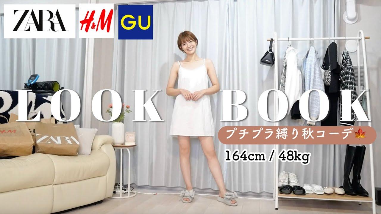 【LOOK BOOK】最近のプチプラ購入品で秋コーデ組んでみた🍁GU / H&M / ZARA etc..