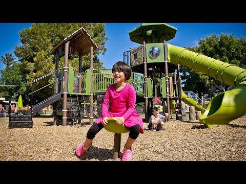 Villa Montessori School - Phoenix, AZ - Visit a Playground - Landscape Structures