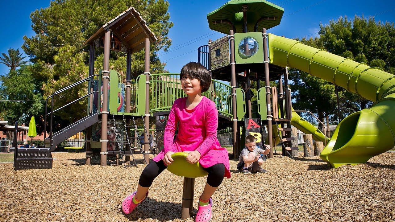 Villa Montessori School Phoenix Az Visit A Playground
