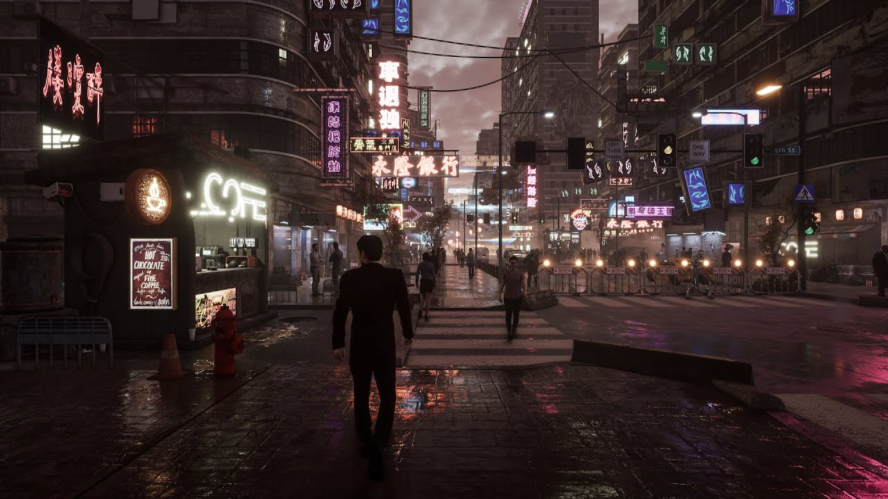 Inspired By Ghost In The Shell Ingame Environment Created With Unreal Engine 4 25 Youtube