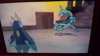 CATCH RAYQUAZA WITH A POKEBALL...!!!!!!!! POKEMON ORAS