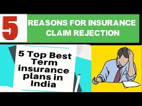 Best Term Insurance Plan In India|insurance Claim Rejection Reasons|claim Settlement Life Insurance