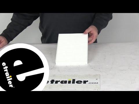 etrailer | Review of PTC Air Filter - Cabin Air Filter - 3513780
