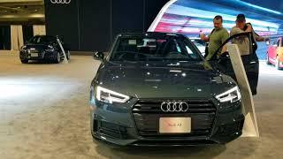 2019 AUDI A4 at 2018 Washington auto show