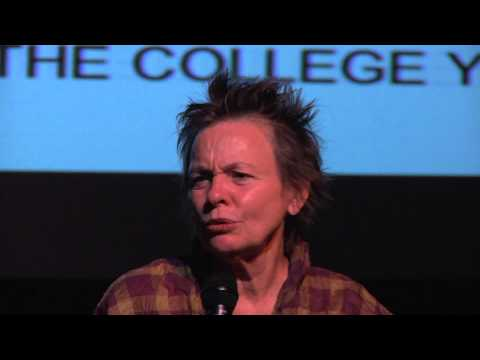 A conversation with Laurie Anderson and Tom Leeser