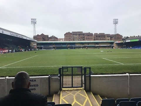 Southend United Vs Rotherham United - Match Day Experience