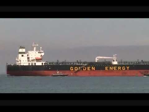 Energy Pioneer leaving Portland Harbor