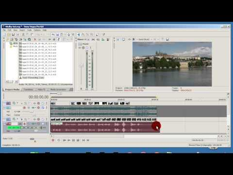 Video from Sony Vegas into MKV part 1