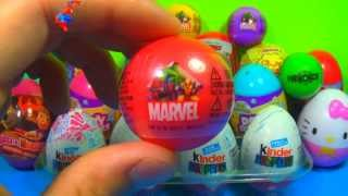 1 of 20 kinder surprise and surprise eggs spongebob cars hello kitty toy story marvel spider man