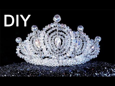видео: diy: handmade beaded 👑 crown / Корона из бисера своими руками