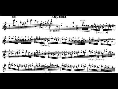Flight of the Bumblebee violin sheet music