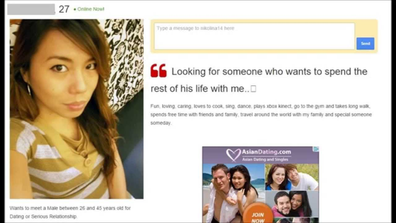 Filipina scammers dating sites beware