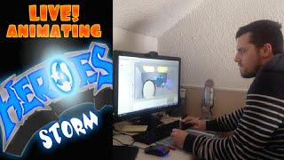 Animating HeroStorm live (VOD)