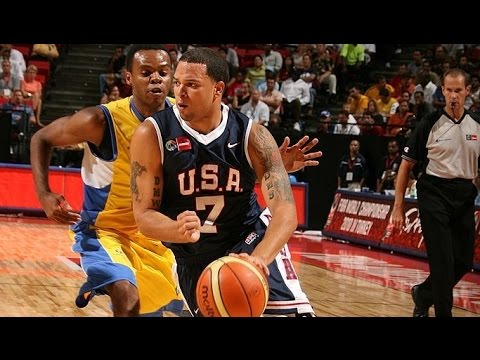 Brazil vs USA 2007 FIBA Americas Basketball Championship Group Stage FULL GAME