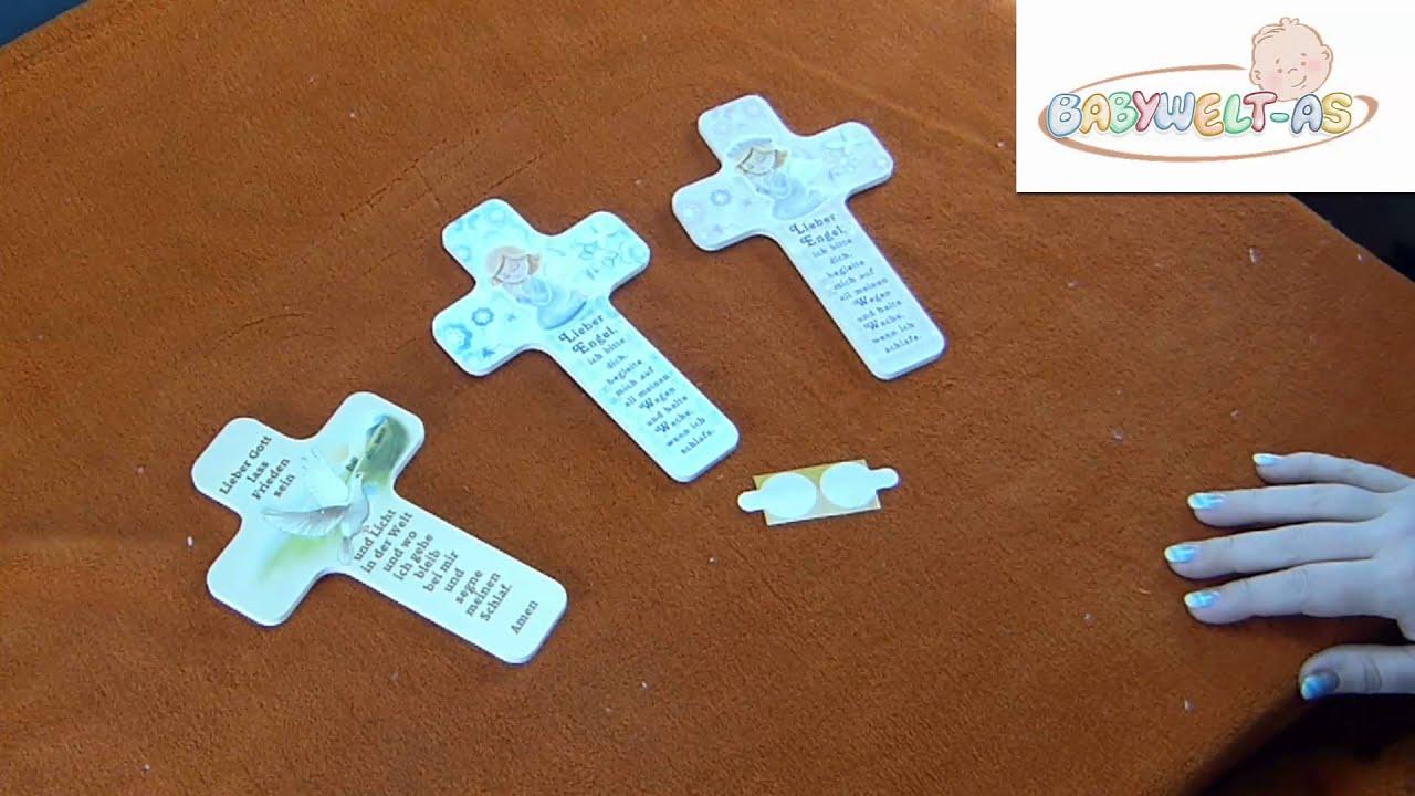Taufkreuz Kinderkreuz Mit Engel Oder Taube Ideales Geschenk Zur Taufe