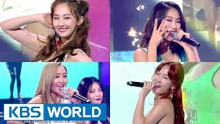 SISTAR Goodbye Special Stage :((( [Music Bank / 2017.06.02]