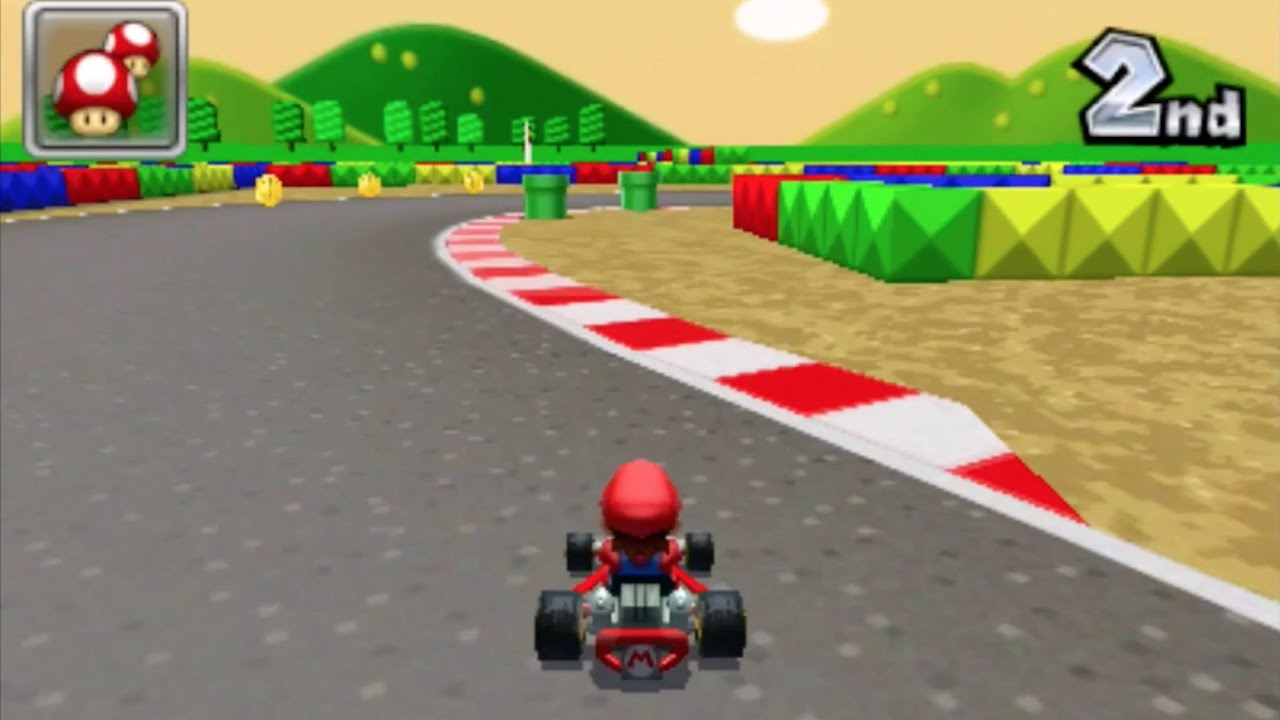 mario kart 7 snes mario circuit 2 1080 hd youtube. Black Bedroom Furniture Sets. Home Design Ideas