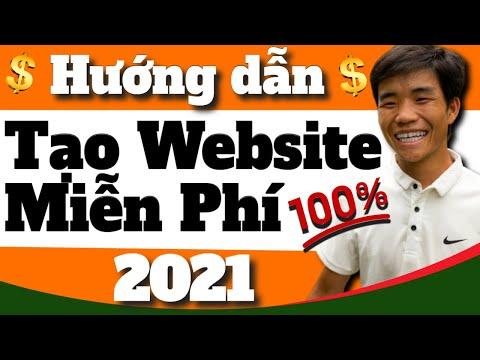 Tạo Website Miễn Phí 2021 - Miễn Phí 100% Tên miền và Hosting (Tạo Website Cho Người Mới A - Z)