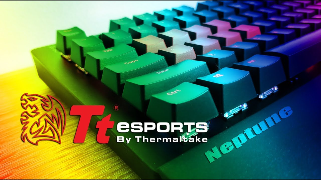 f0a40eb9b39 Tt eSports Neptune Elite RGB - All lighting Effects - YouTube