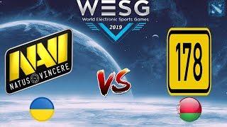 НАВИ против ПЕТУШАРЫ | Na`Vi vs j178 #2 (BO3) WESG 2019