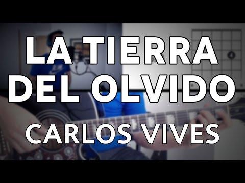 La Tierra Del Olvido Carlos Vives Tutorial Cover - Guitarra [Mauro Martinez]
