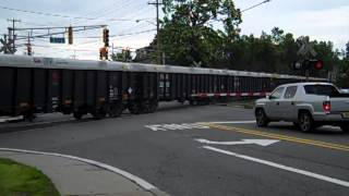 SU-99 passing through Oakland NJ grade crossing.